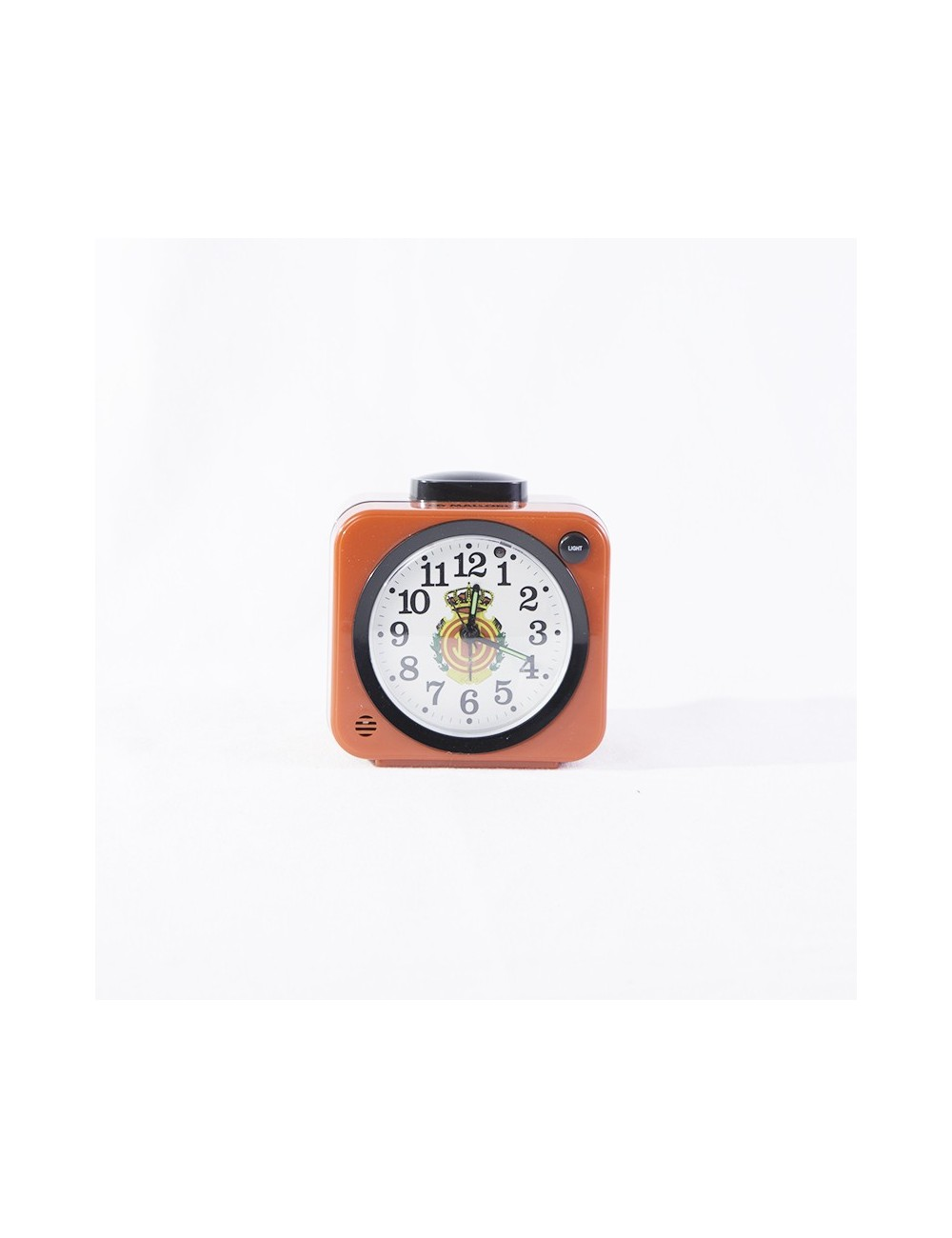 Analog Alarm Clock with the club crest in the center