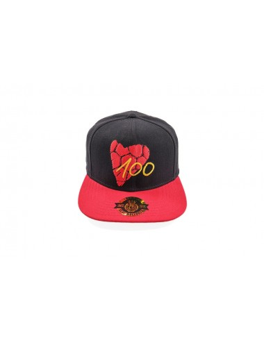 SNAPBACK CAP IN BLACK...